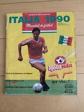 ALBUM PANINI WORLD CUP ITALIA 90 / 1990 MEXICO EDITION (HELADOS HOLANDA) - COMPL