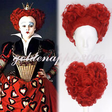 """12""""30cm Alice in Wonderland:Through the Looking Glass Red Queen Cosplay Wig"""