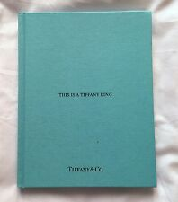 T&Co This is a Tiffany Ring 2015 Engagement Ring Brochure Book Hard Cover