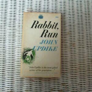 Rabbit Run by John Updike | Crest Books, '62, Fawcett World Library
