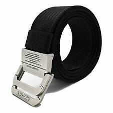 WYuZe Nylon Military Style Casual Army Outdoor Tactical Webbing D-ring Belt for