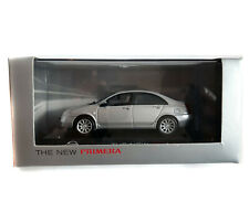 2001 J-Collection 1/43 scale Nissan Primera 4-Door Saloon Silver Dealer Edition