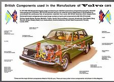 British Components Used In The Manufacture of Volvo Cars 1979-80 UK Brochure 244