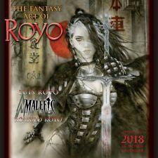 LUIS ROYO - 2018 WALL CALENDAR - BRAND NEW - FANTASY ART 901325