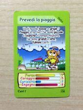 CARD - AMICI DEL MULINO BIANCO - LE CARTE NATURA - N°7 PREVEDI LA PIOGGIA (ORTO)
