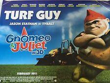 Gnomeo And Juliet Original Uk Quad Poster