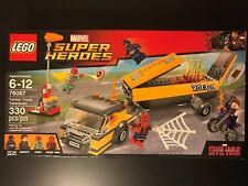 LEGO SUPER HEROES MARVEL CAPTAIN AMERICA 76067 Tanker Truck Takedown New Sealed