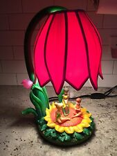Disney Tinker Bell Fairy Fairies Friends Sunflower Flower Lamp Nightlight Light