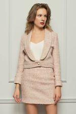 Dolce Tweed Suit Anzug Pink Rosa EU 36 /S Blazer Skirt Jacke Rock