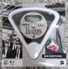 TRIVIAL PURSUIT BITE SIZE - THE BEATLES 600 FAB FOUR QUESTIONS brand new sealed