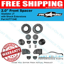 """Rubicon Express 2020+ Gladiator JT 2.0"""" Front Spacer Leveling Shock Ext. JT7134E"""