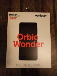 "NEW Verizon Orbic Wonder 5.5"" 13MP 16GB 4G LTE Black Android Smartphone"