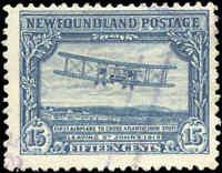 1929-31 Canada Used Newfoundland 15c F+ Scott #170 Pictorial Stamp