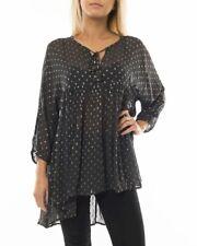 Part Two 200$ Women's Jayil Sparkle polkadots blouse Tunic size UK 16 US 14