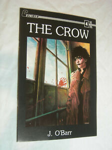 The Crow #4 VF 1st print J. O'Barr Caliber Press Movie Tie-In SCARCE