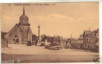 22 - cpa - PERROS GUIREC - Place de l'église ( i 4274)