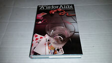A Is for Alibi by Sue Grafton (1982, Hardcover) 9th Print