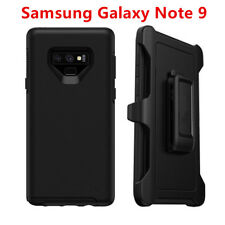 For Samsung Galaxy Note 9 Case Cover W/ Belt Clip Fit Otterbox Defender Black