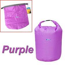 New Outdoor Backpack Kayak Ocean Pack  20L Waterproof Dry Bag Sack Purple S3Q3