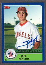 2003 TOPPS T 130  Jeff Mathis  LA CALIFORNIA ANGELS  SIGNED AUTOGRAPH AUTO COA