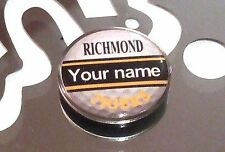 anneys - your OWN PERSONALISED  ** TIGERS ** golf ball marker!