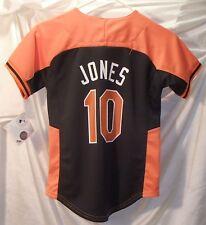 Adam Jones Baltimore Orioles Youth Small Sewn Logo Baseball Jersey Size 8