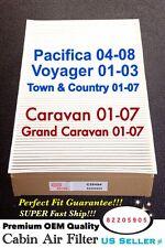 CABIN AIR FILTER for Pacifica Voyager Caravan Grand Caravan C35494 82205905