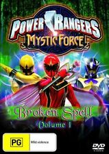Power Rangers Mystic Force : Vol 1 (DVD, 2007) disc exc cond full refund policy