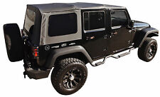 NEW 2010-2018 JEEP WRANGLER UNLIMITED 4 DOOR REPLACEMENT SOFT TOP TINT WINDOWS