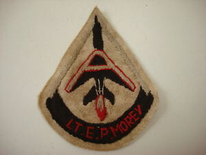 Vietnam War USAF 14th Tactical Reconnaissance Sq LT. E.P. MOREY Hand Sewn Patch