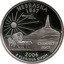 NEBRASKA  2006 -S Proof Silver State Quarter - DCAM