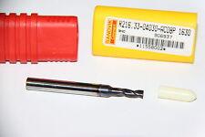 R216.33-04030-AC08P 1630  SANDVIK End Mill, GC1630, PVD, 0.138 In Dia, 2.244 L