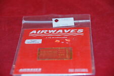 AIRWAVES PHOTO ETCHED WWII GERMAN ACCESSORIES AC 7220 1:72 NEW
