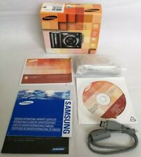 Samsung ES28 ES Series Silver Digital Camera Boxed with USB Cable 12.2 MP Tested
