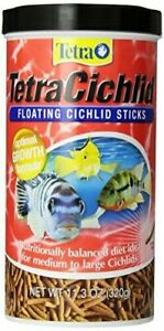 Tetra TetraCichlid Floating Cichlid Sticks for Medium / Large Cichlids 11.30 Oz