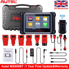 Autel MaxiSys MS906BT OBD2 Bluetooth Auto Diagnostic Code Readers Tool MK908 UK