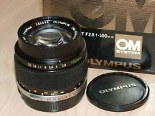 OLYMPUS OM ZUIKO 100mm F2.8 LENS NEW IN BOX LATER MC VERSION