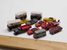 N Scale - Lot of (12) Assorted Car Vehicles For Model Train Layout