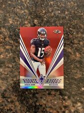 2019 Panini Phoenix Football Marquise Brown Red Prizm Rookie #d /299 Ravens RC