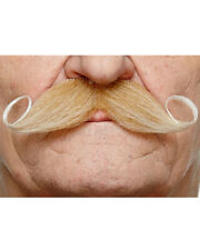 Old English Blonde Moustache One Size