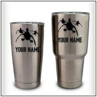 Your Name Duck Hunting Decal Sticker compatible with YETI Rambler Waterfowl Cup
