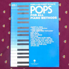 Pops For All Piano Methods Songbook By Schultz ©1984 Level 2 Book 3 ♪ 40 Pages
