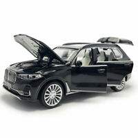 1:32 BMW X7 2019 SUV Model Car Diecast Toy Vehicle Pull Back Black Kids Gift