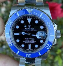 Rolex Submariner 116610 Steel Smurf Bezel 4 White Gold 126619 116619 UNWORN NEW