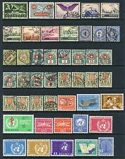SWITZERLAND AIRMAIL & BACK OF BOOK COLLECTION MINT & USED