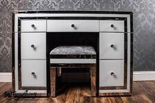White mirror dressing table