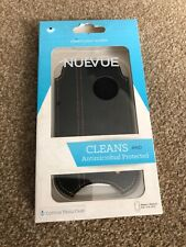NUEVUE - Cotton Twill Black Screen Cleaning Case. Iphone 4 ,  4s / 5