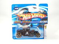 Hot Wheels 2006 BONE SHAKER First Editions #6/38 Short Card FTE Wheels NEW NOC