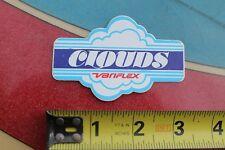 VARIFLEX Clouds Wheels Skateboards Rare JA 70's Vintage Skateboarding STICKER