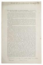 1871 MACLAREN Medicine TUBERCULOSIS TREATMENT Carlisle Dispensary SIGNED COPY